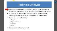 Technical Analysis Theory Part 1