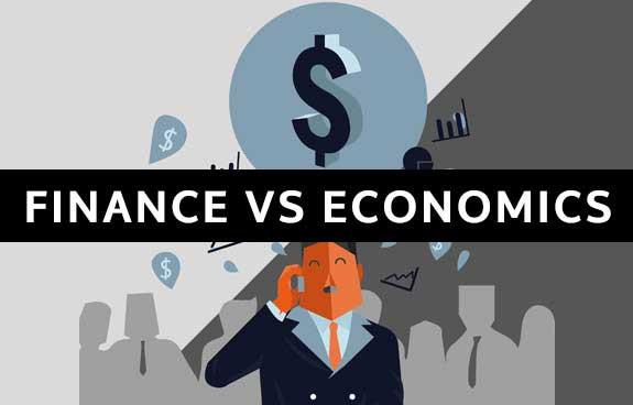 FINANCE VS ECONOMICS