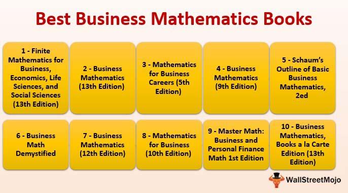 Top 10 Best Business Mathematics Books