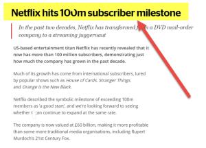 Break Even Point | Formula | Top Example | Netflix Break-even