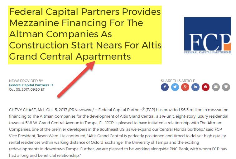 Mezzanine Financing - Federal Capital