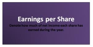 Earnings Per Share Formula