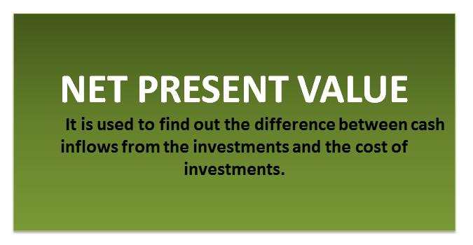 Net Present Value Formula Npv Calculator Excel Template