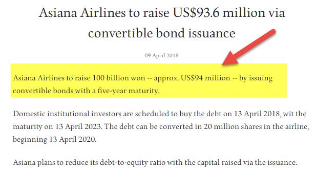 dilutive securities - convertible bonds