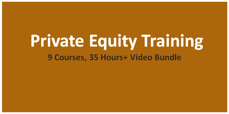 Private Equity Training