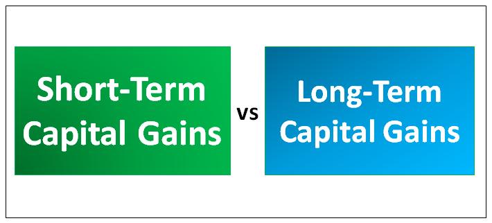 Short-Term Capital Gains vs Long-Term Capital Gains