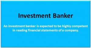 Investment Banking Job Description