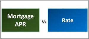 Mortgage APR vs Interest Rate