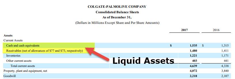 Liquid Assets 1