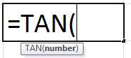 TAN Formula
