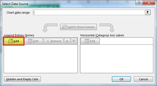 Click on Select Data option