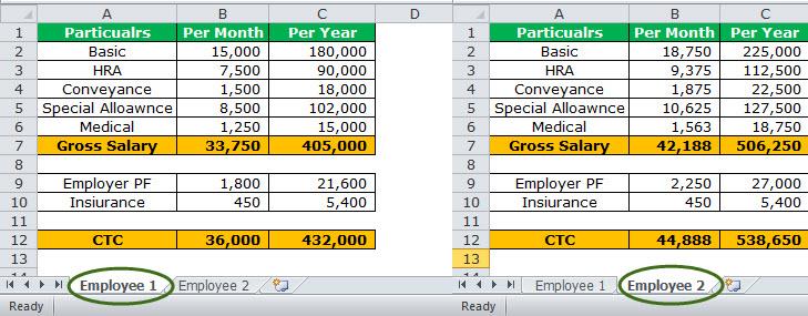 Watch Window in Excel Example 2