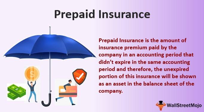 Prepaid Insurance Definition Journal Entries Is It An Asset