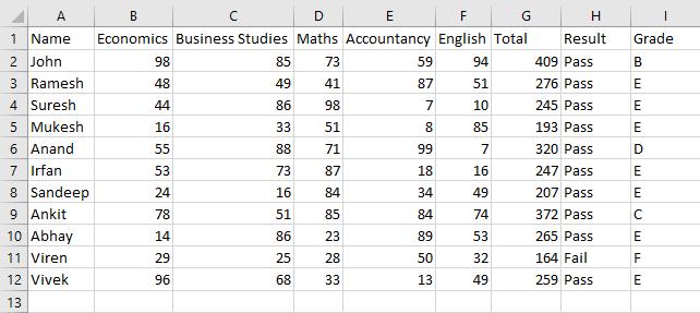 excel macros example 1-2