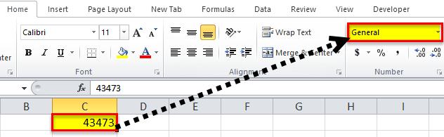 Custom Format Excel Example 1-1