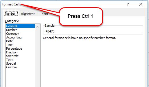 Date Custom Format example 1-1
