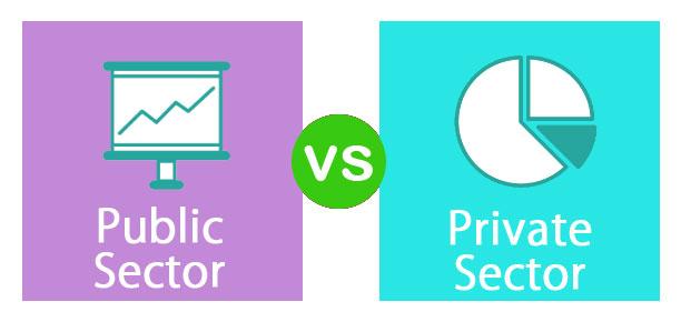 Public Vs Private Sector Top 11 Differences Comparison Infographics