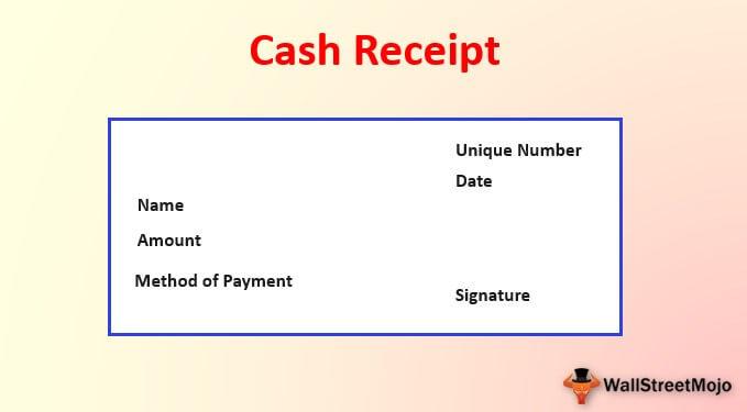 Cash Receipt Format Uses Cash Receipt Journal Examples