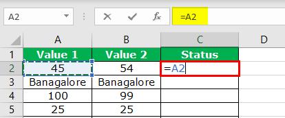 Excel Logical Operators - Step 3