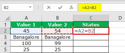 Excel Logical Operators - Step 5