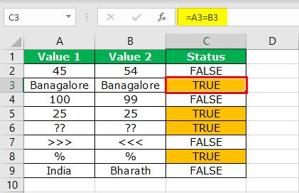 Excel Logical Operators - Step 6