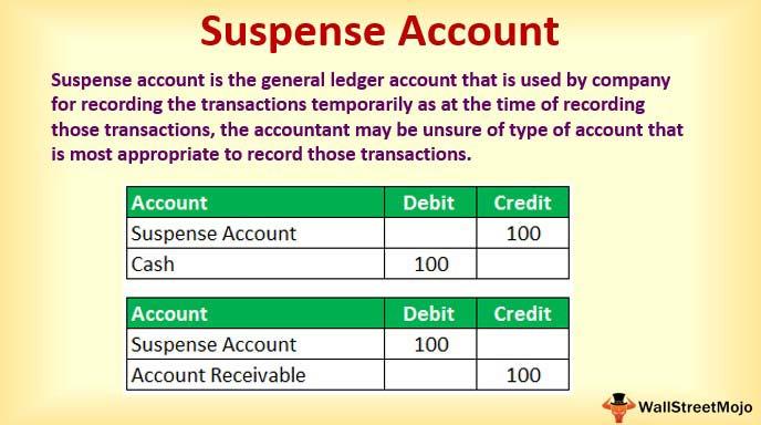 Suspense-Account
