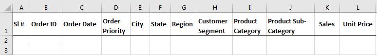 create excel database 1.1