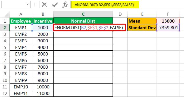 apply formula Example 2-5
