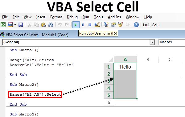 Cells vba