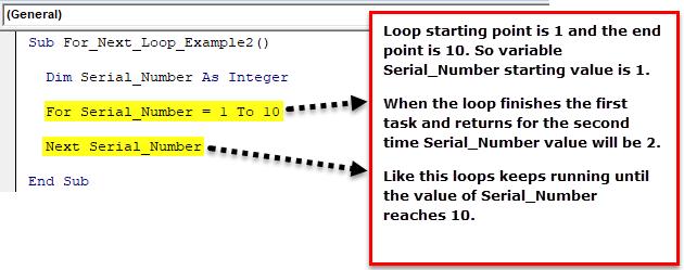 VBA for Next Loop Step 1
