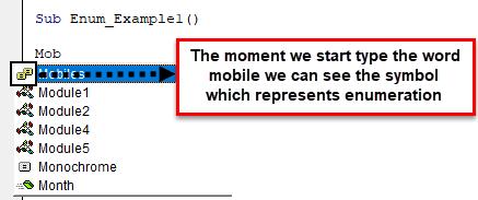 Enumerations Example 1-6