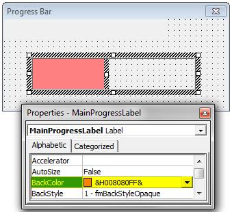 VBA ProgressBar Step 12.2