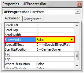 VBA Progress Bar Step 4
