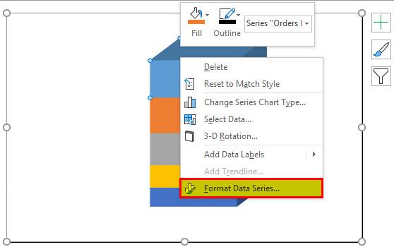 Format data series