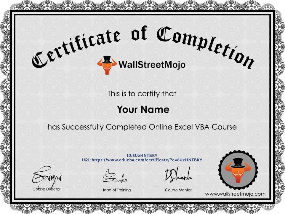 Online-Excel-VBA-Course