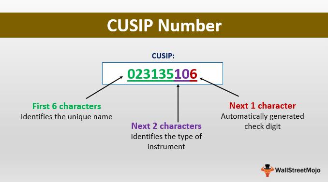 CUSIP-Number