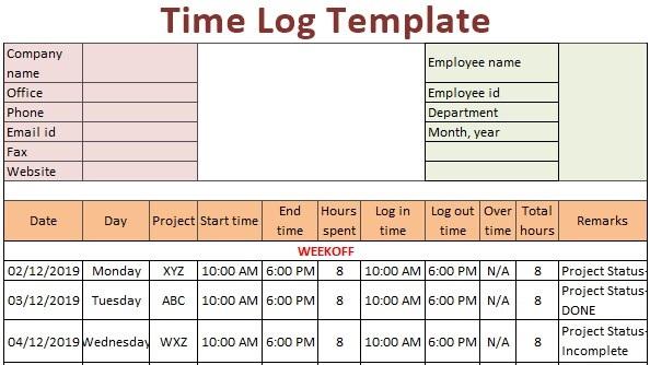 Log Template Excel from www.wallstreetmojo.com